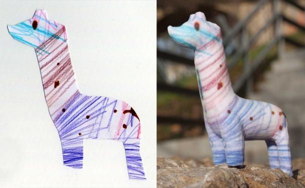 3- Crayon Creatures