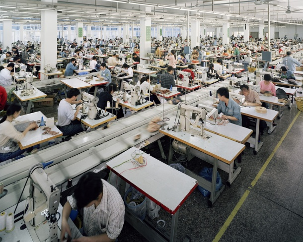 Edward Burtynsky, Manufacturing China© Edward Burtynsky
