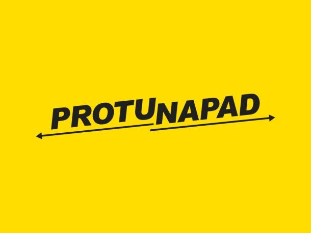 protunapad - logo - zuti