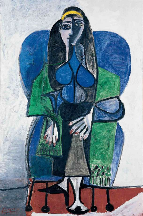 02_Picasso_femme_assise_1960