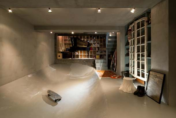 10 Skate Park House by Level Architects in Tokyo