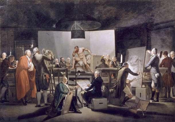 Martin-Ferdinand-Quadal,-Der-Aktsaal