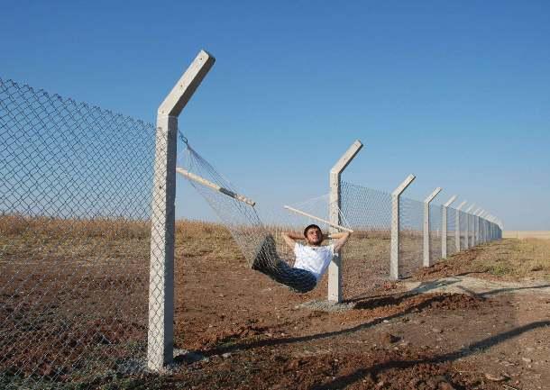 Murat Go¦łk_Border (Hammok) 2010 Tę Murat Go¦łk