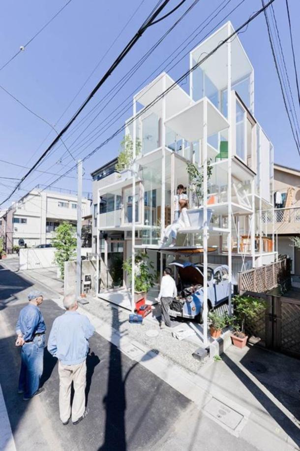 Sou Fujimoto Architects,_House NA_Tokyo_Japan_2010©Iwan Baan