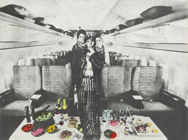 Interior d'un avió (Etnografia), 1973