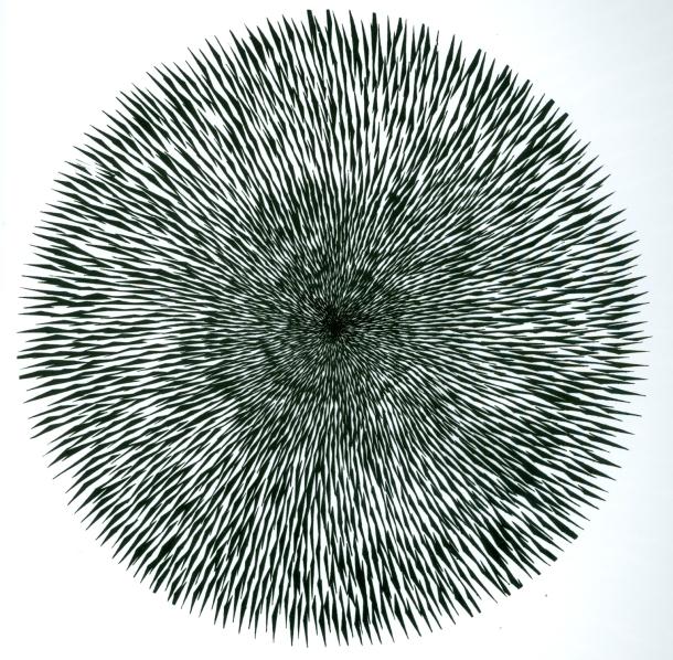 Bombardiranje očnog živca II, 1963., vlasništvo Muzej moderne umjetnosti New York