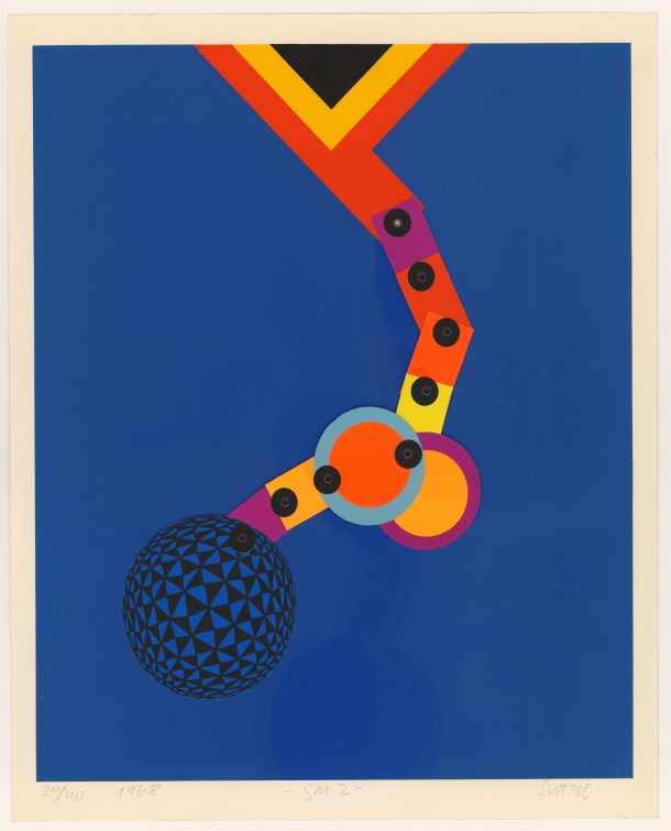 SM 2, 1975., mobilna grafika, Nacionalna i sveučilišna knjižnica u Zagrebu