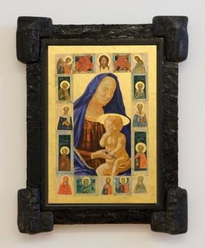 IRWIN (Borut Vogelnik), Was ist Kunst Hugo Ball (Madonna with Jesus) , 2012