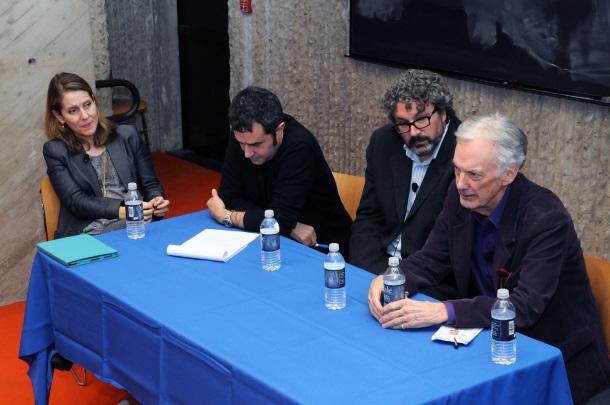2 Paola Antonelli, Alejandro Zaera Polo, Greg Lynn, Charles Jencks