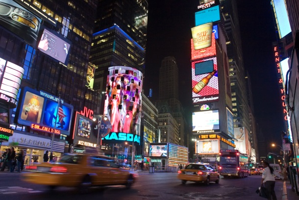 Times Square. New York City 2005