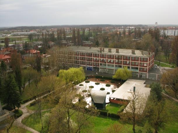 Borovo danas pogled na Radnički dom i naselje