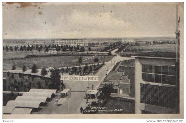 Borovo - tvornice Bata
