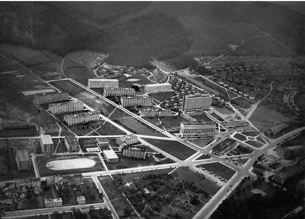 Centar Zlina 1935.