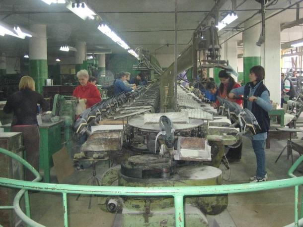 Rad u tvornici danas