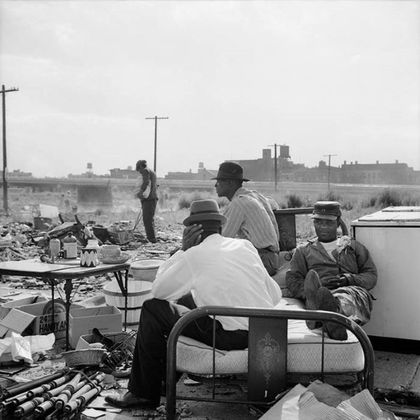 Maxwell Street, Chicago, IL. 1962