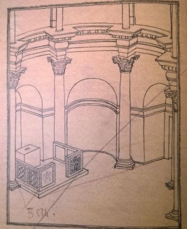E_Dyggve_Rekonstrukcija oltarne pregrade u splitskoj katedrali _1929