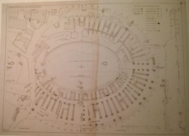 E_Dyggve_Tlocrt salonitanskog amfiteatra_1933