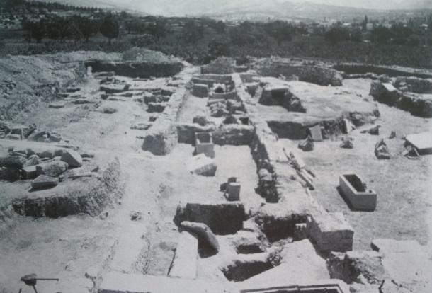 Salona_Bazilika Pet mučenika na Kapljuču_1922