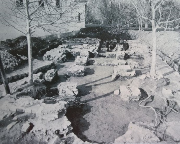 Solin_Istraživanja crkve sv. Stjepana na Gospinu otoku 1930