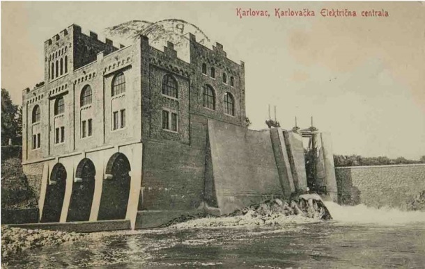 Električna centrala na Kupi u Ozlju1_izdavač L. Reich