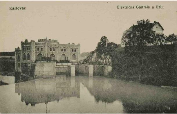 Električna centrala na Kupi u Ozlju_izdavač L. Reich