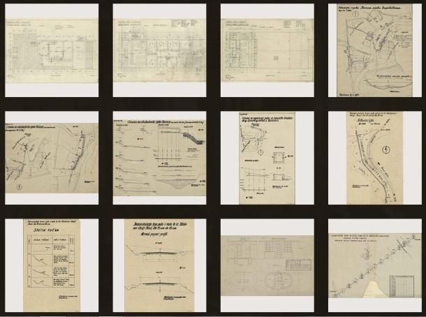Nacrti pohranjeni i u Virtualnom muzeju karlovačke industrije