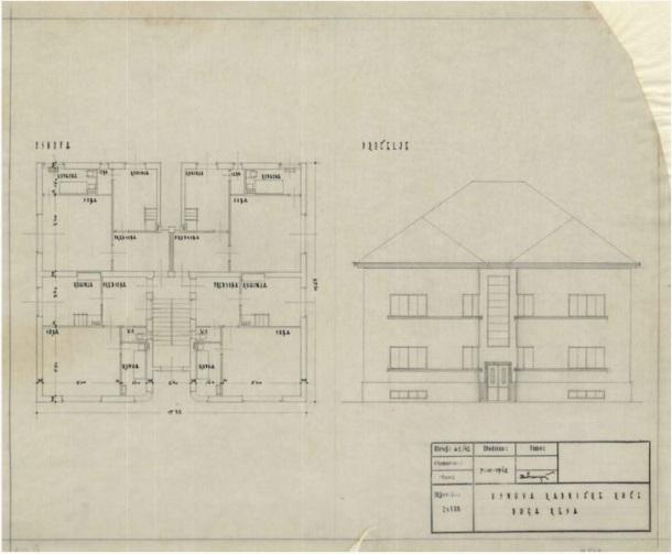 Novogradnja radničkih kuća Tvornice predenja i tkanja