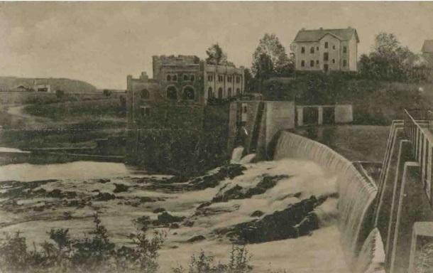 Vodopad na Kupi i hidrocentrala u Ozlju_izdavač A. Brusina