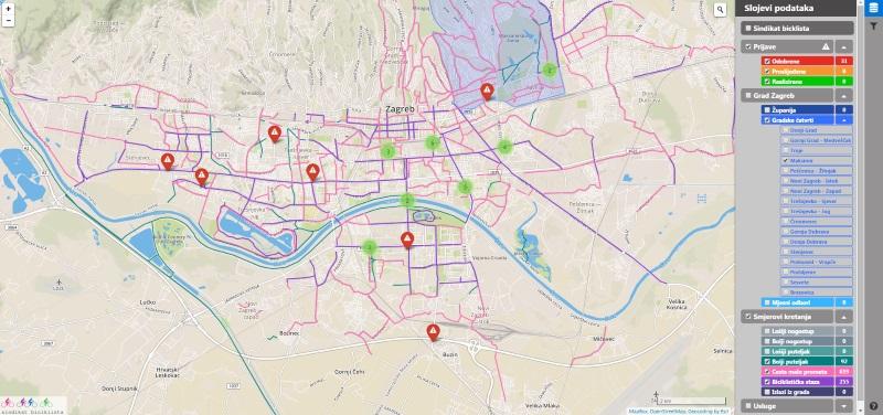 Interaktivna Karta Kao Dijalog O Mobilnosti U Zagrebu Pogledaj To