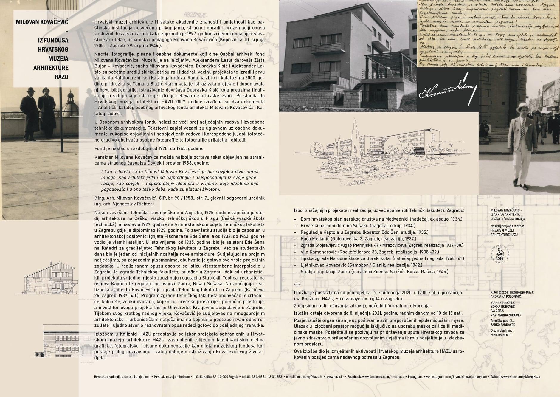 Iz Arhiva Arhitekta Milovan Kovacevic Pogledaj To